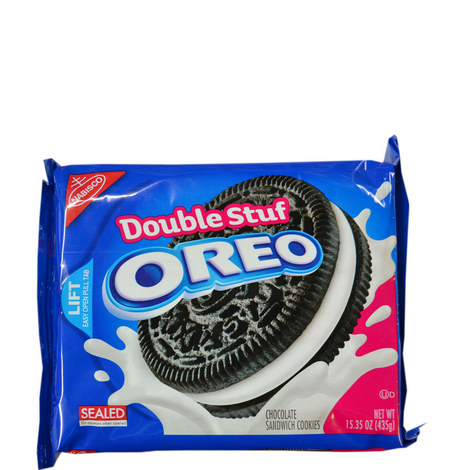 Nabisco Double Stuff Oreo 435g, ${color}