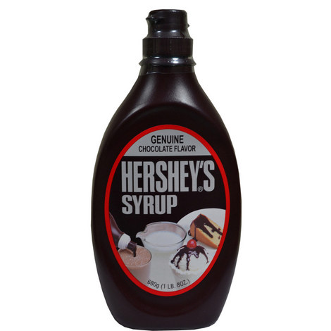 Hershey's Chocolate Syrup, ${color}