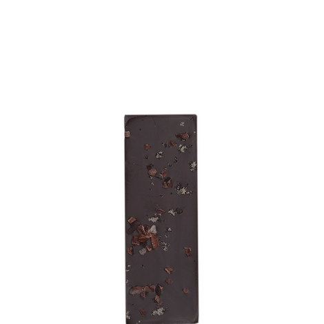 Irish Sea Salt and Cocoa Nibs Dark Chocolate Bar 80g, ${color}