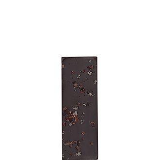 Irish Sea Salt and Cocoa Nibs Dark Chocolate Bar 80g