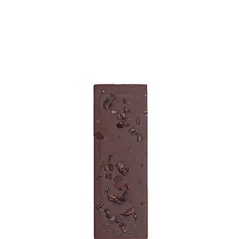Smoked Irish Sea Salt Chocolate Bar 80g, ${color}