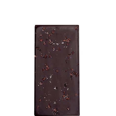 Irish Sea Salt and Cocoa Nibs Dark Chocolate Bar, ${color}