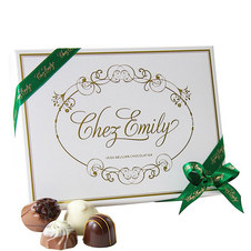 Chez Emily 12 Piece Chocolate Box