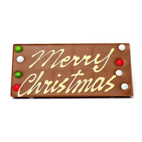Happy Christmas Chocolate Bar 175G, ${color}