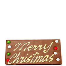 Happy Christmas Chocolate Bar 175G