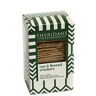 Rye and Linseed Crackers