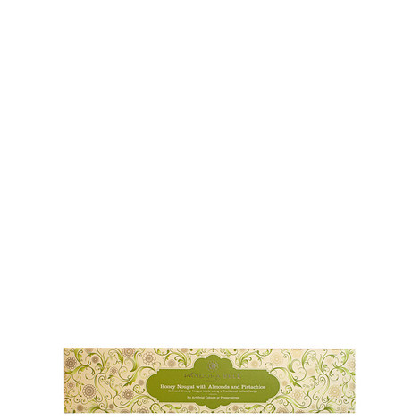 Honey Nougat with Almond and Pistachio 200g, ${color}