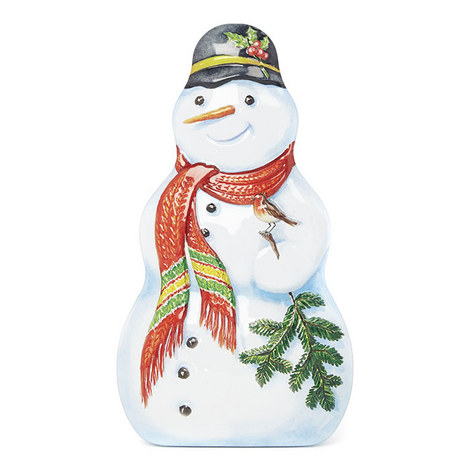 Snowman Sweet Tin 225g, ${color}