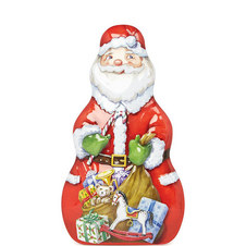 Jelly Bean Santa Tin 235g