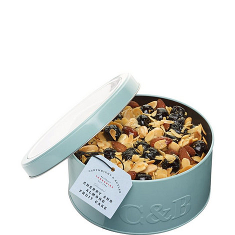 Cherry and Almond Fruitcake Tin, ${color}