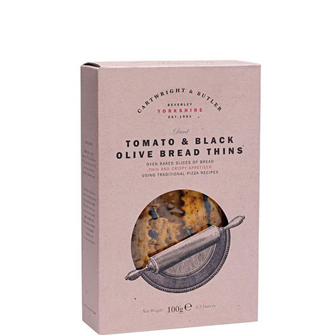 Tomato and Black Olive Bread Thins 100g, ${color}