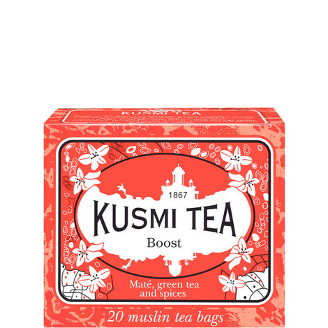 Boost 20 Muslin Tea Bags, ${color}