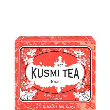 Boost 20 Muslin Tea Bags, ${color}