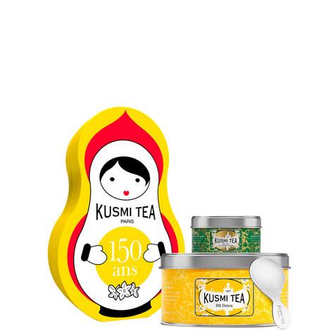 Detox Tea Doll Gift Set, ${color}