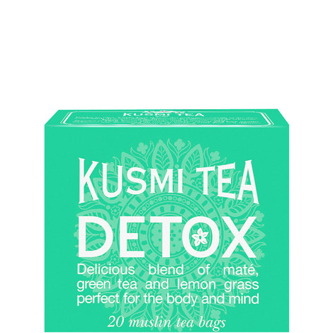 Detox 20 Muslin Tea Bags, ${color}