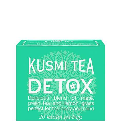 Detox 20 Muslin Tea Bags, ${color}