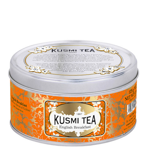 English Breakfast Tea Tin 4,41 OZ, ${color}