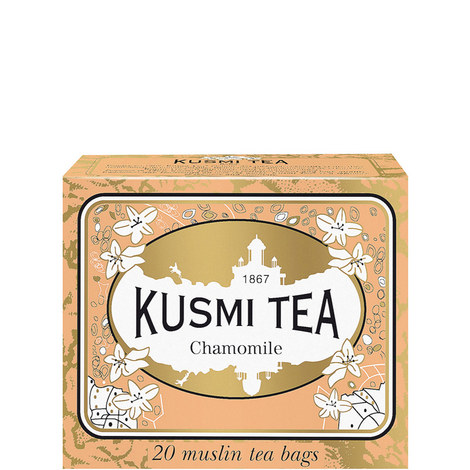 Chamomile 20 Muslin Tea Bags, ${color}