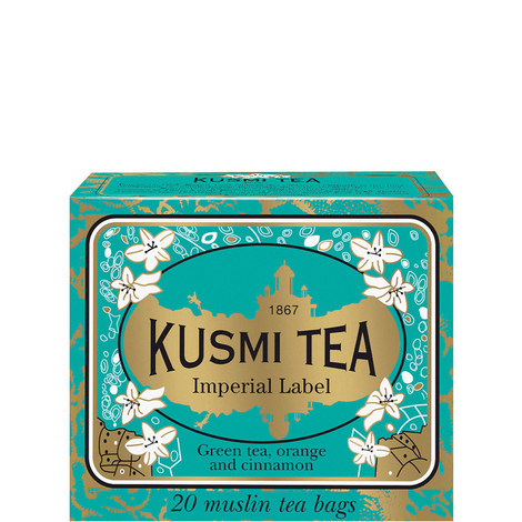 Imperial Label 20 Muslin Tea bags, ${color}