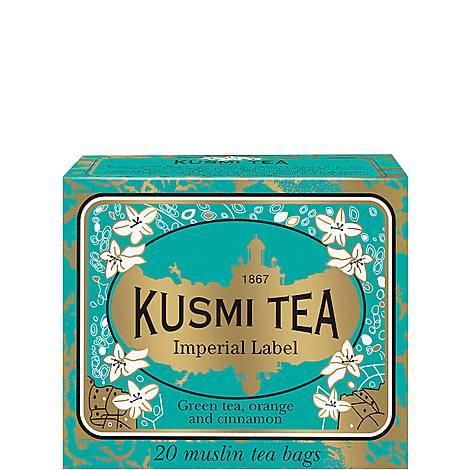 Imperial Label 20 Muslin Tea bags, ${color}