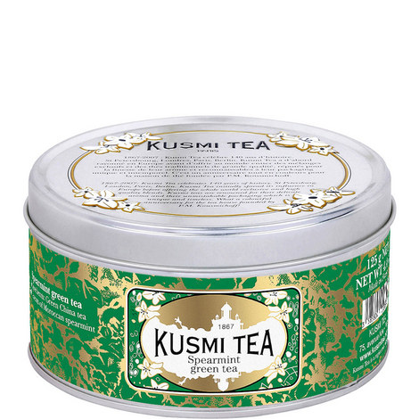 Spearmint Green Tea Tin 125g, ${color}