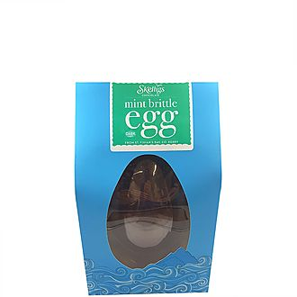 Mint Brittle Chocolate Easter Egg