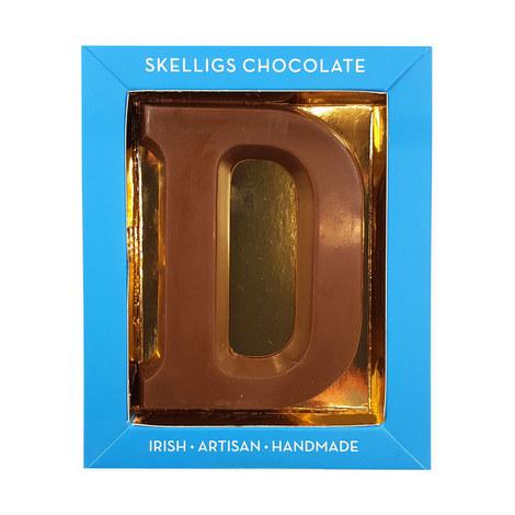 Milk Chocolate Letter D, ${color}