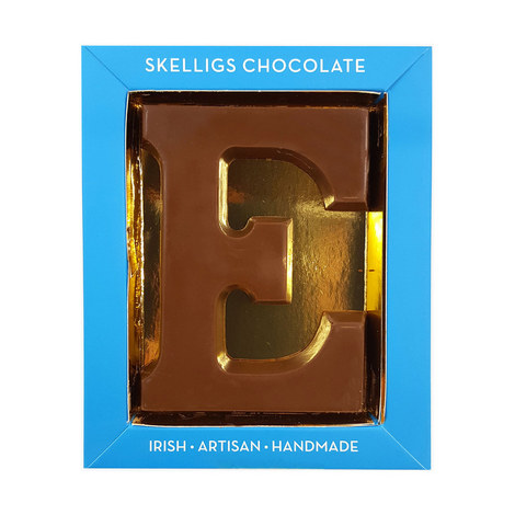 Milk Chocolate Letter E, ${color}