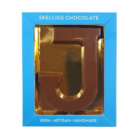 Milk Chocolate Letter J, ${color}