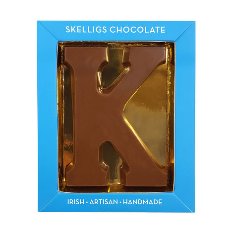 Milk Chocolate Letter K, ${color}