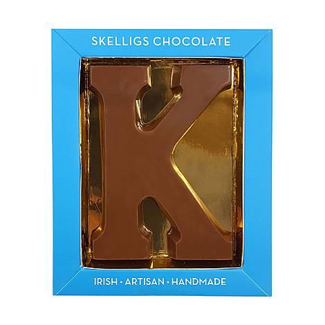 Milk Chocolate Letter K, ${color}