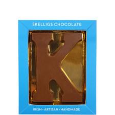 Milk Chocolate Letter K