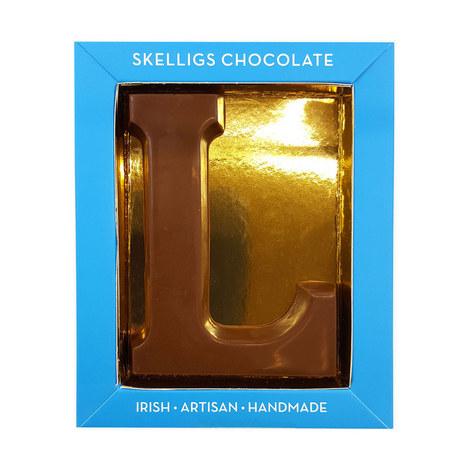 Milk Chocolate Letter L, ${color}