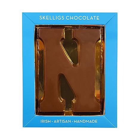 Milk Chocolate Letter N, ${color}