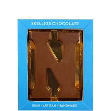 Milk Chocolate Letter N
