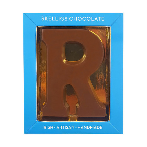 Milk Chocolate Letter R, ${color}