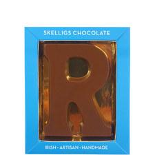 Milk Chocolate Letter R