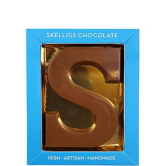 Milk Chocolate Letter S