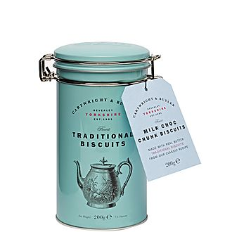 Chocolate Chunk Biscuit Tin 400g