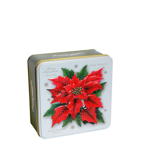 Poinsettia Biscuit Tin 300g, ${color}