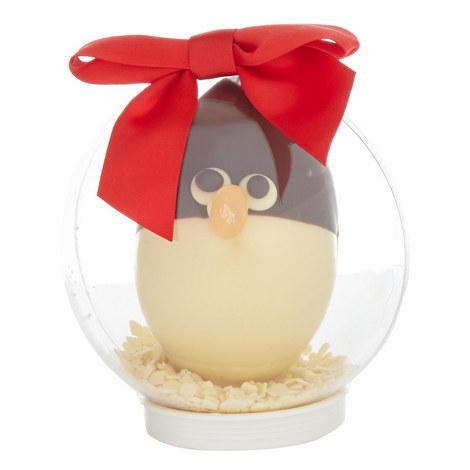 Chocolate Penguin Snow Globe, ${color}