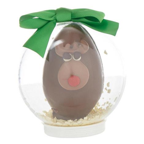 Chocolate Reindeer Snow Globe, ${color}