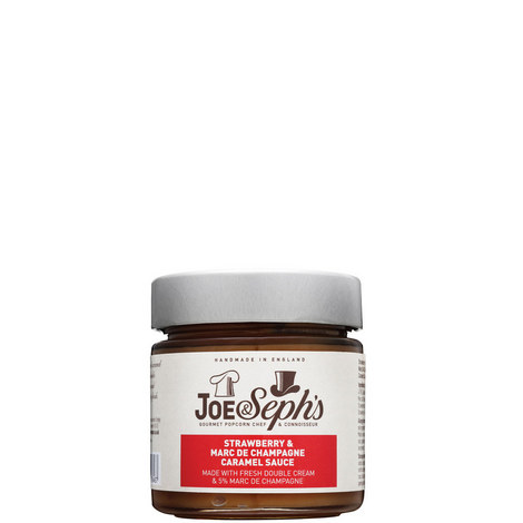 Strawberry and Marc de Champagne Caramel Sauce 230g, ${color}