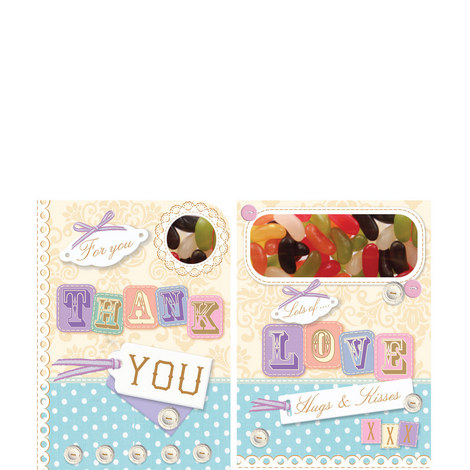 Thank You Sweeting Card, ${color}