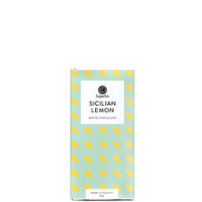 Sicilian Lemon White Chocolate Bar 80g