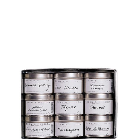 Set of 9 French Tins Collection, ${color}