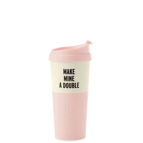 Make Mine A Double Thermal Mug, ${color}