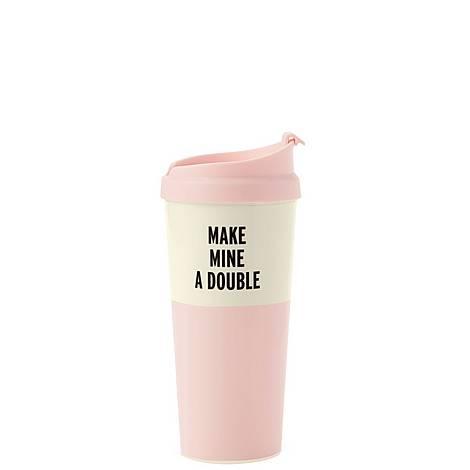 Make Mine A Double Thermal Mug, ${color}