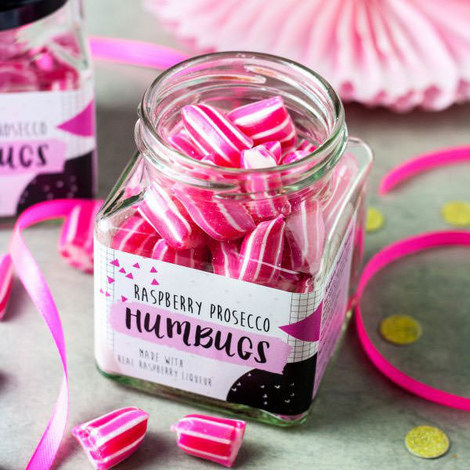 Raspberry Prosecco Humbugs 160g, ${color}