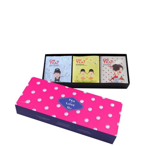 Organic Tea of Love Gift Set, ${color}